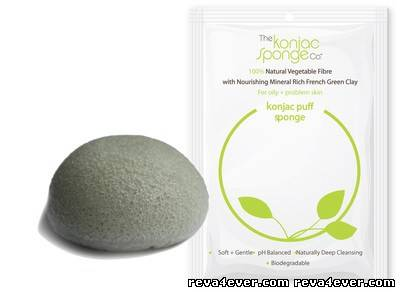 Konjac Facial Sponge Facial Wash Cleaning 100% Natural