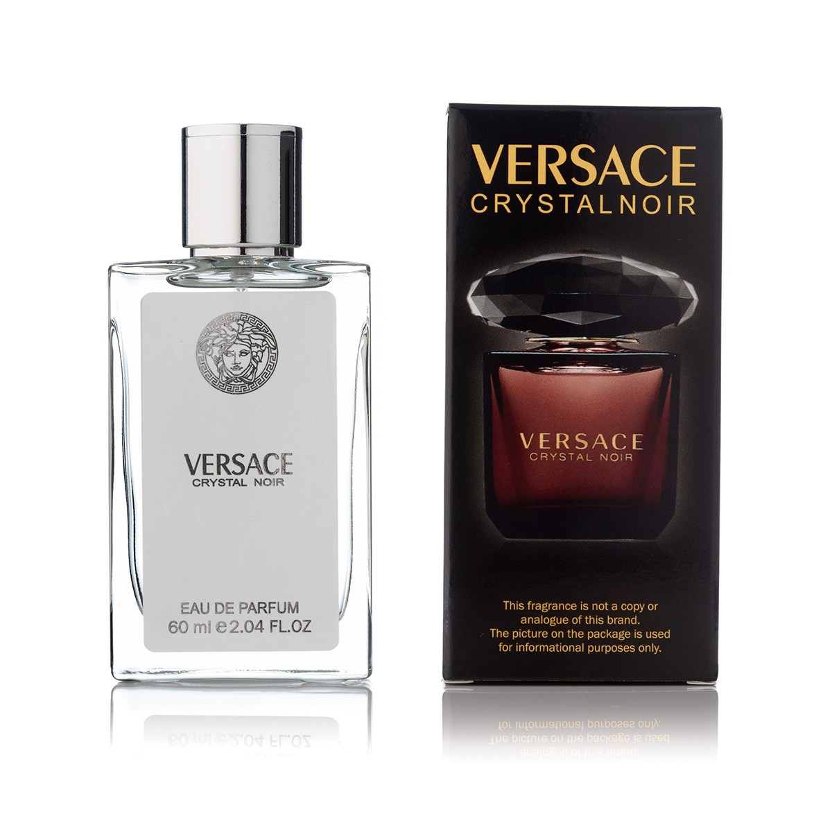 Versace Crystal Noir edp 60 ml tester color box