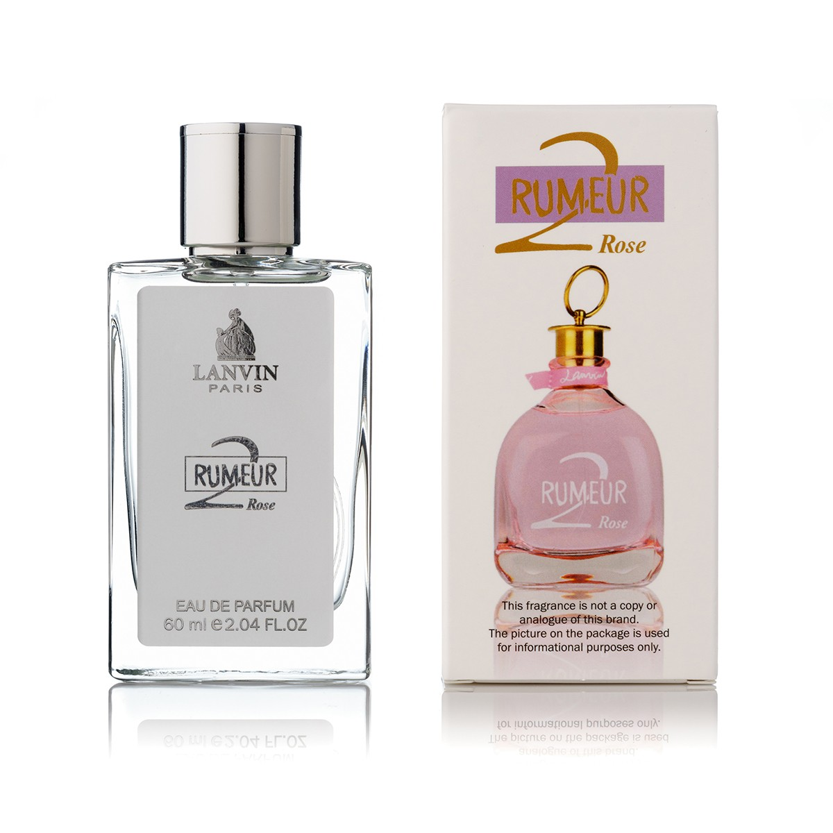 Lanvin Rumeur 2 Rose edp 60 ml tester color box