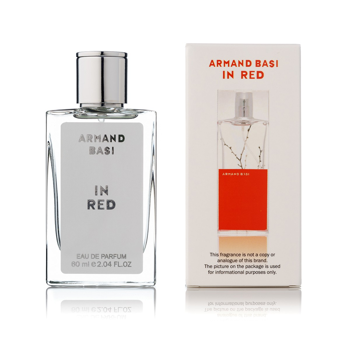 Armand Basi In Red edp 60 ml tester color box