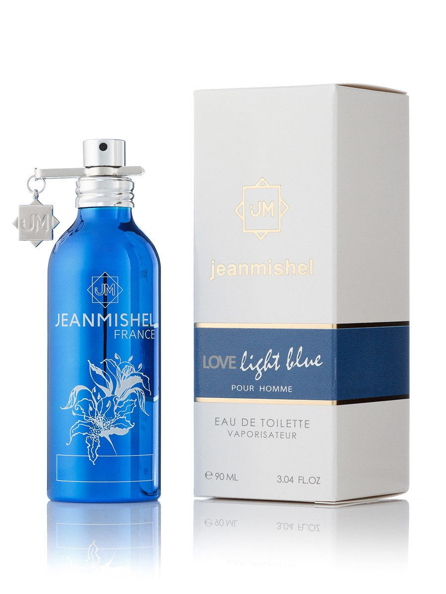 Jeanmishel 27 Love Light Blue pour Homme edp 90ml montale style