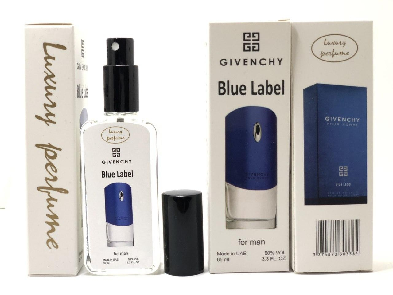 Givenchy pour Homme Blue Label edp 65ml luxury perfume