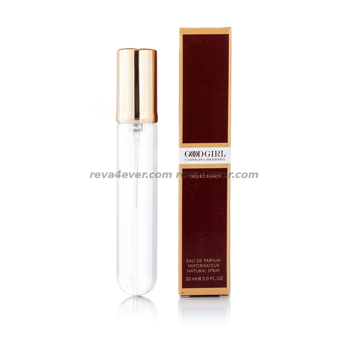 Carolina Herrera Good Girl Velvet Fatale edp 20 мл в коробке