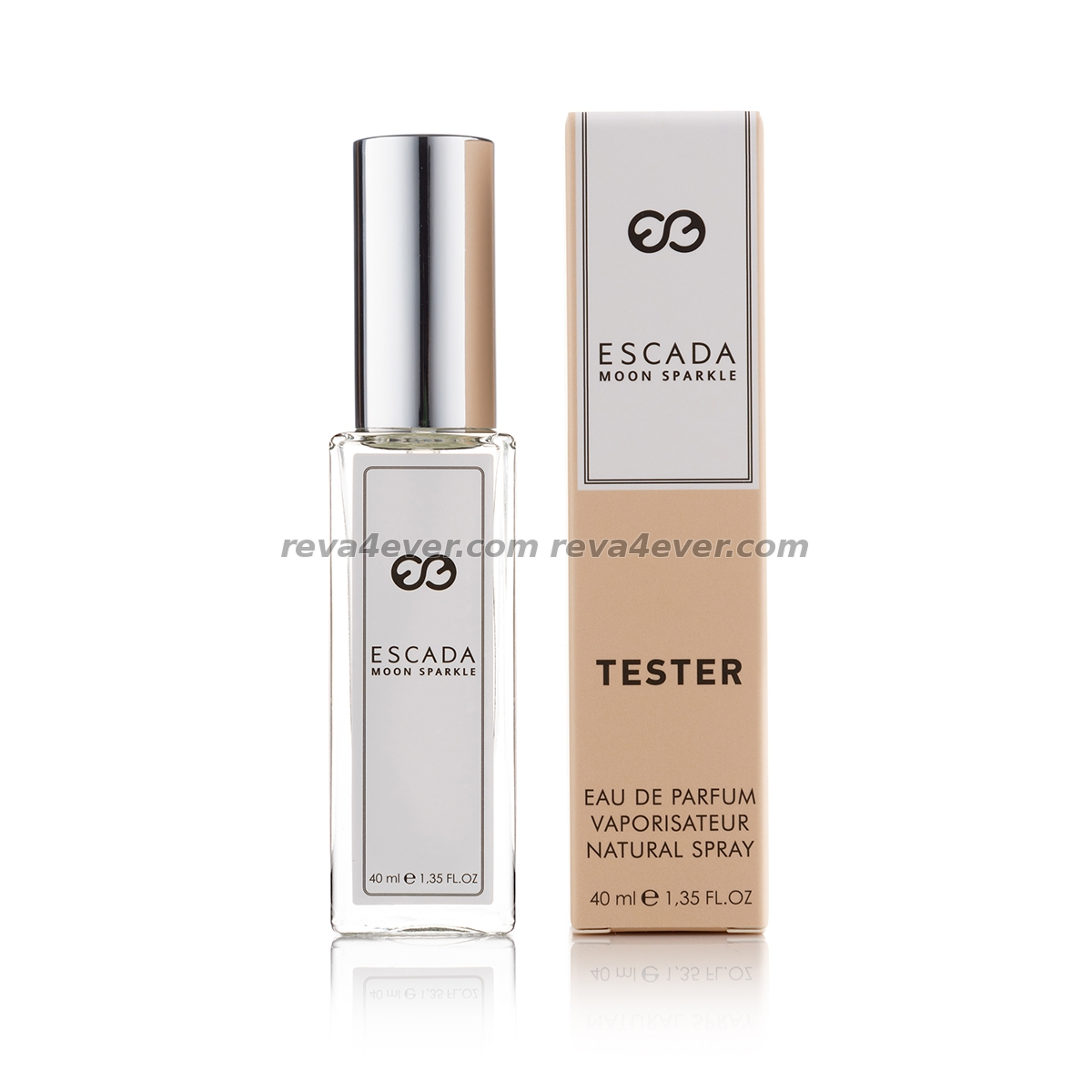 Escada Moon Sparkle edp 40 ml tester бежевая упаковка