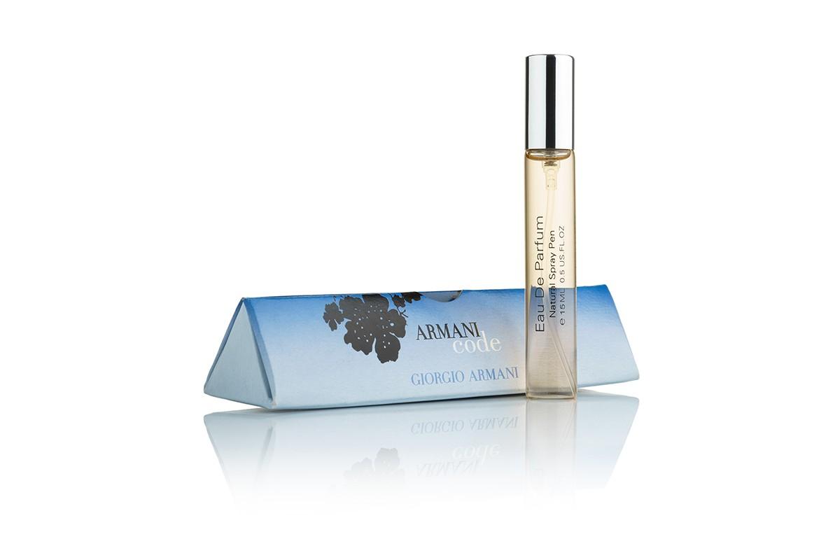 Armani Code edp 15ml (ручки духи) мини парфюм в треугольнике ... f2c99ed2495c1