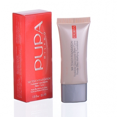 Pupa Milano Silk Touch Foundation 30 ml