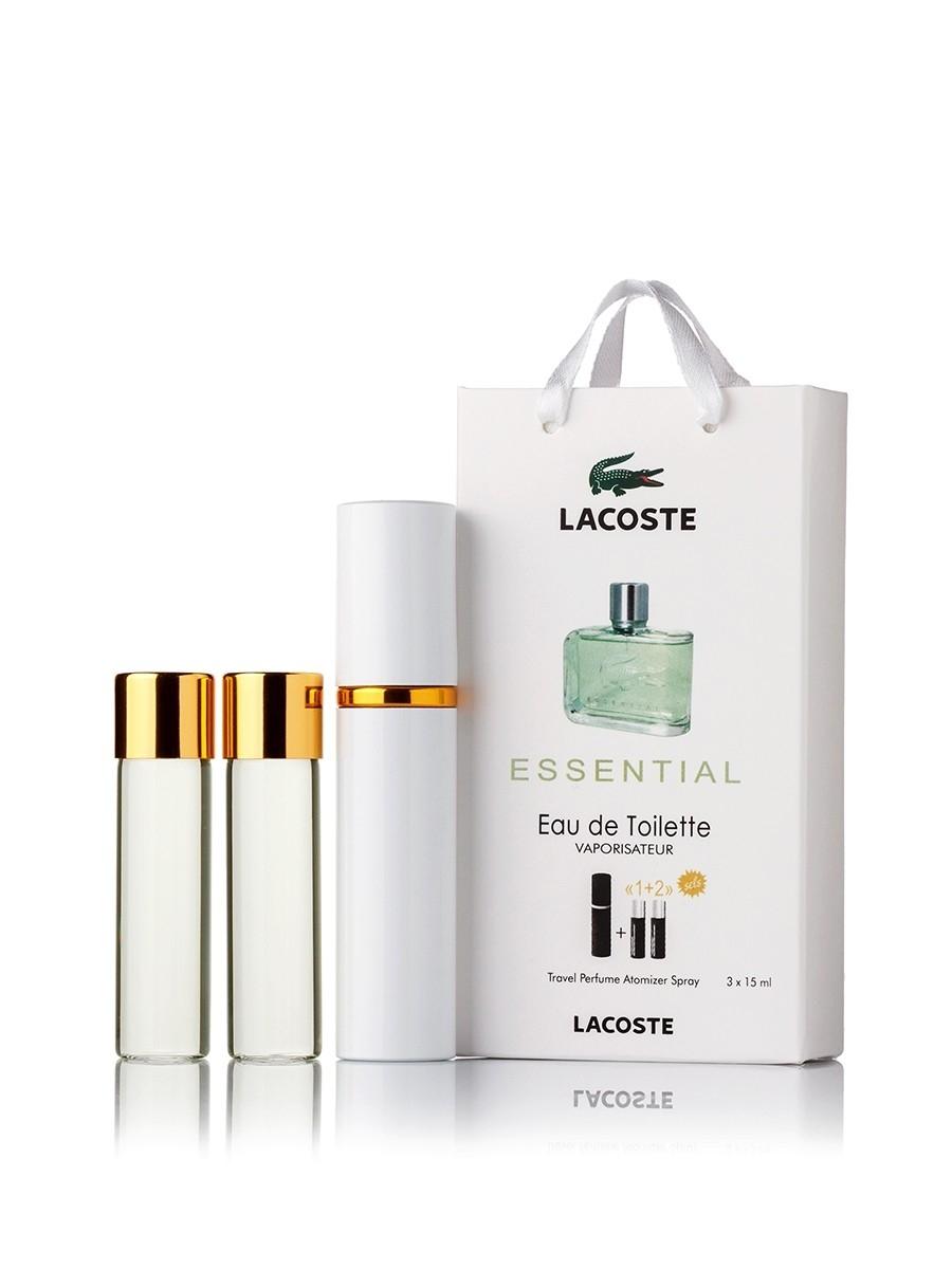 Lacoste Essential edt 3x15ml в подарочной упаковке. - Парфюмерия и ... 09e6516df7968