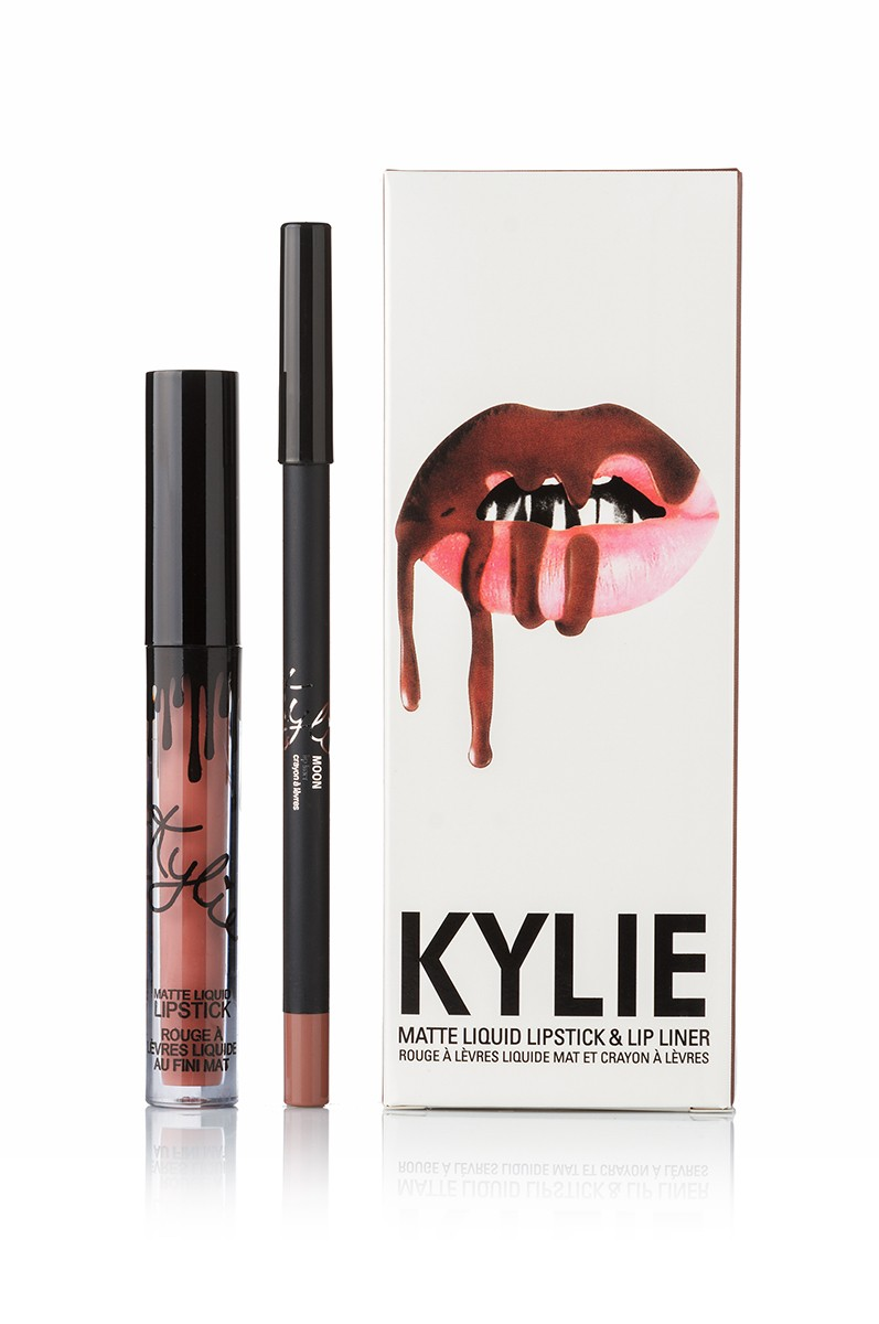 Kylie Moon Matte Liquid LipsticK and Lip Liner матовая помада + карандаш