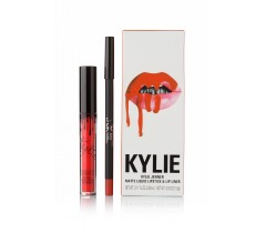 парфюмерия, косметика, духи Kylie Dazzle Matte Liquid LipsticK and Lip Liner матовая помада + карандаш