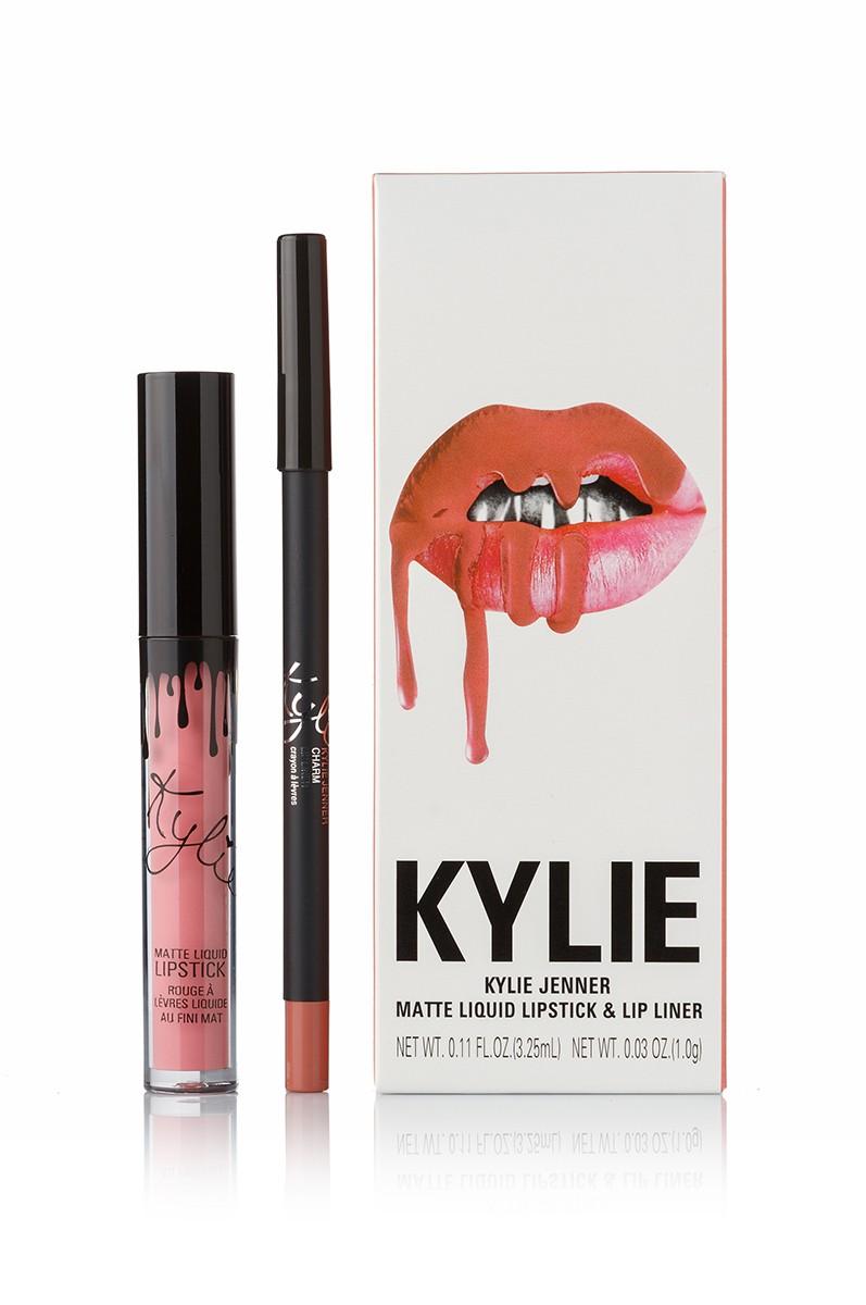 Помада Kylie True Brown K купить в магазине со скидкой: Kylie Charm Matte Liquid LipsticK And Lip Liner матовая