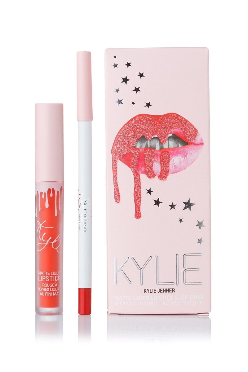 Kylie Stars Baby Girl Matte Liquid LipsticK and Lip Liner матовая помада + карандаш