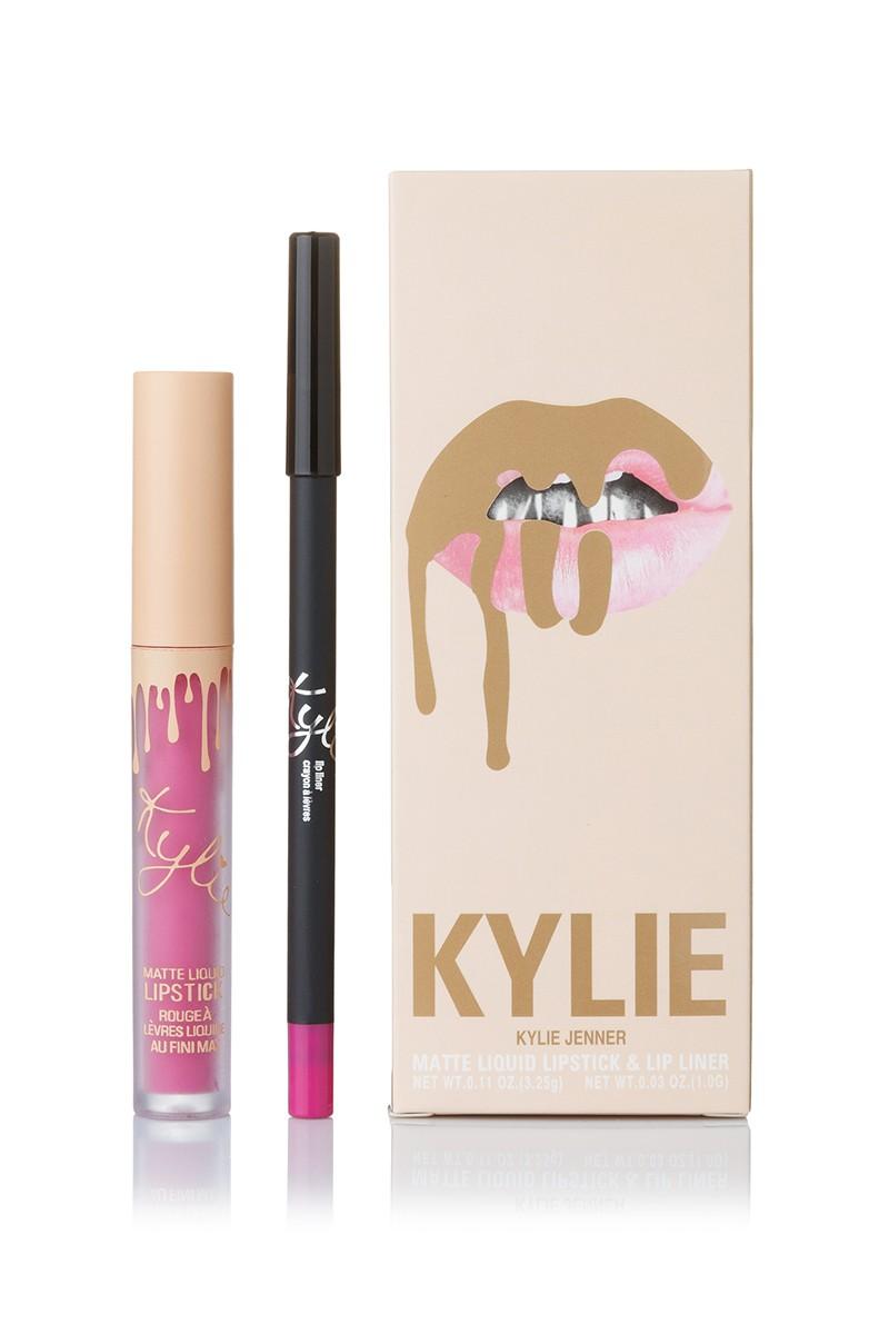 Помада Kylie True Brown K купить в магазине со скидкой: Kylie On Vacation June Bug Matte Liquid LipsticK And Lip