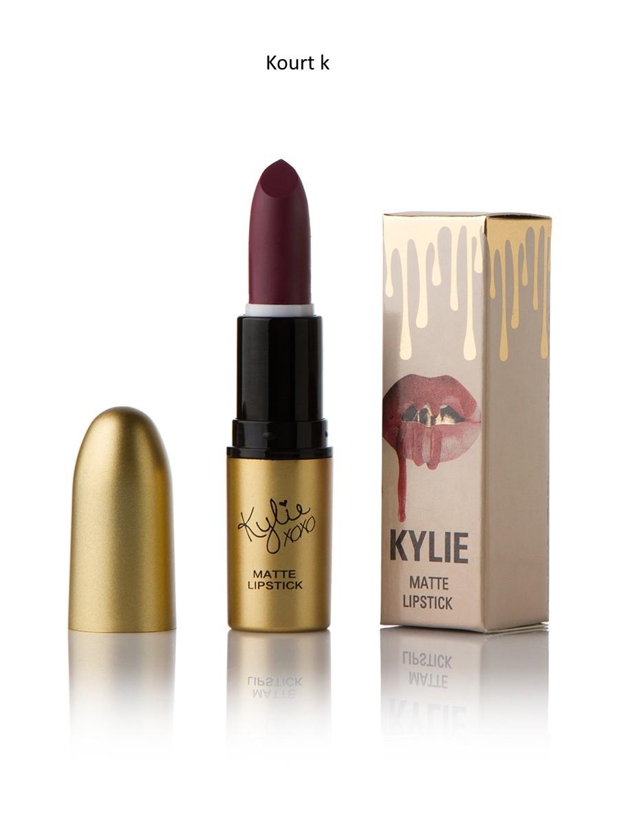 Помада Kylie True Brown K купить в магазине со скидкой: Kylie Kourt K Matte Lipstick помада поштучно.