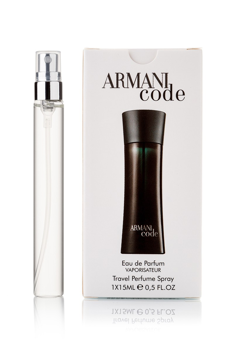 Armani Code Men edp edp 1x15мл с феромонами travel perfume spray ... d3d642e3de8b3