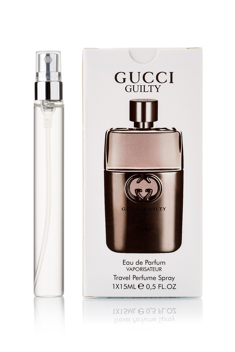 Gucci Guilty Pour Homme edp edp 1x15мл с феромонами travel perfume spray