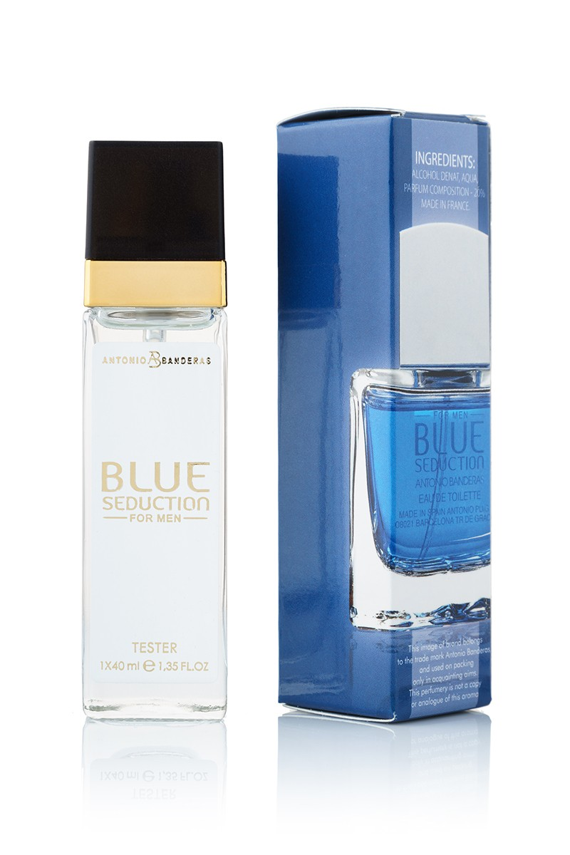Antonio Banderas Blue Seduction edt 40 ml квадрат