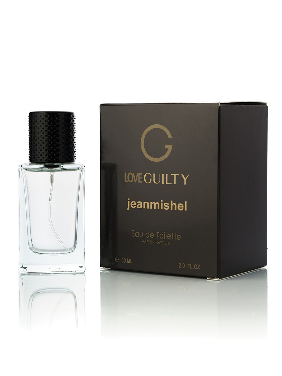 Jeanmishel Love Guilty edt (Гуччи Гвилти) 60ml упаковка кубик