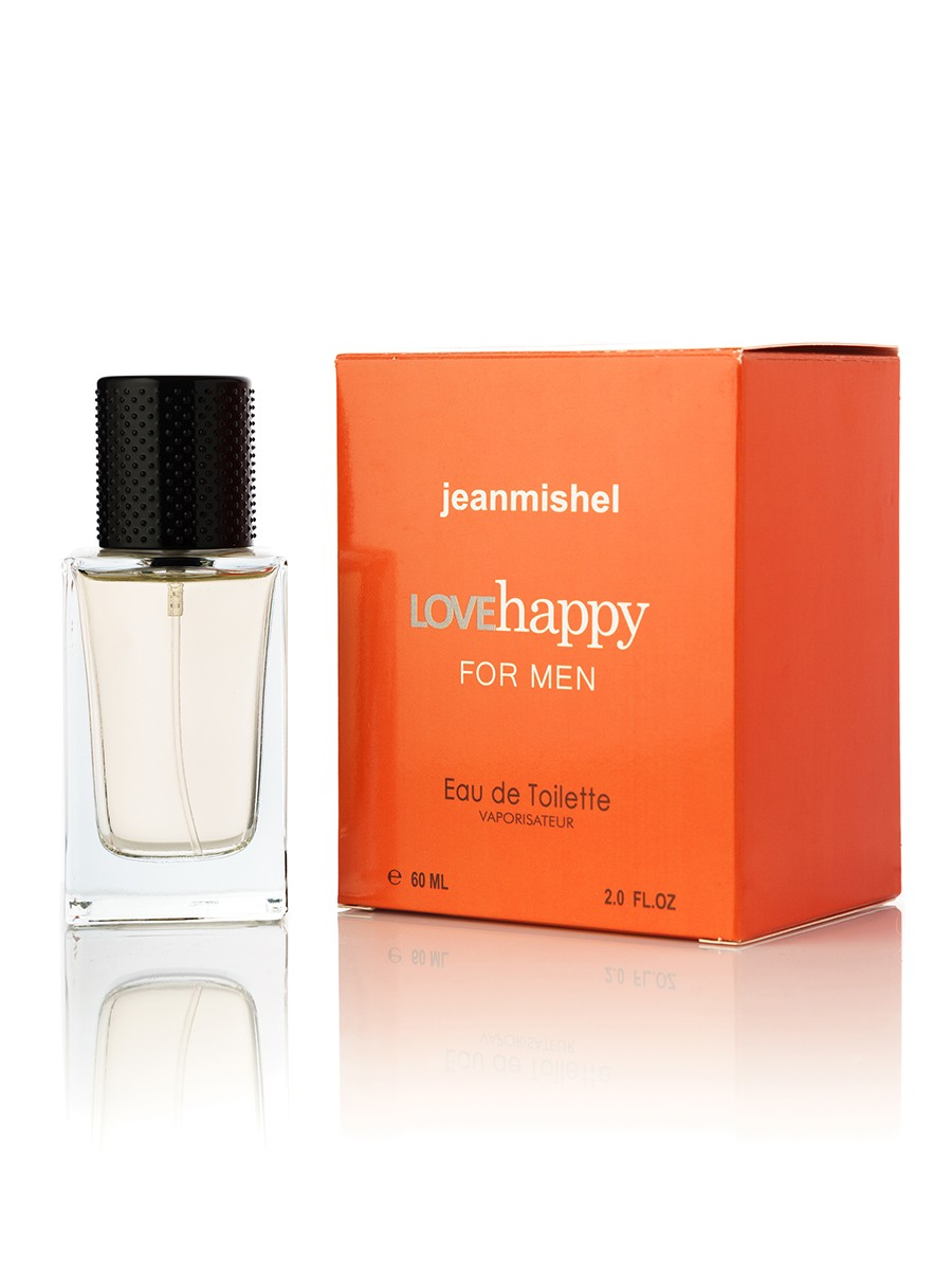 Jeanmishel Love Happy For Men edt 60ml упаковка кубик