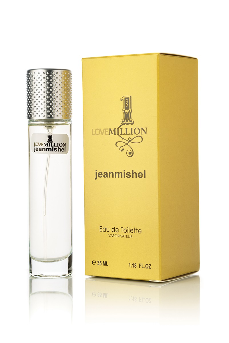 Jeanmishel Love 1 Million edp 35мл упаковка квадрат