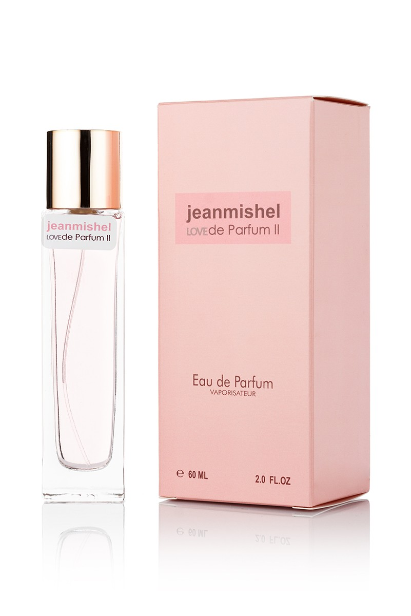 Jeanmishel Love De Parfum 2 edp 60ml упаковка квадрат
