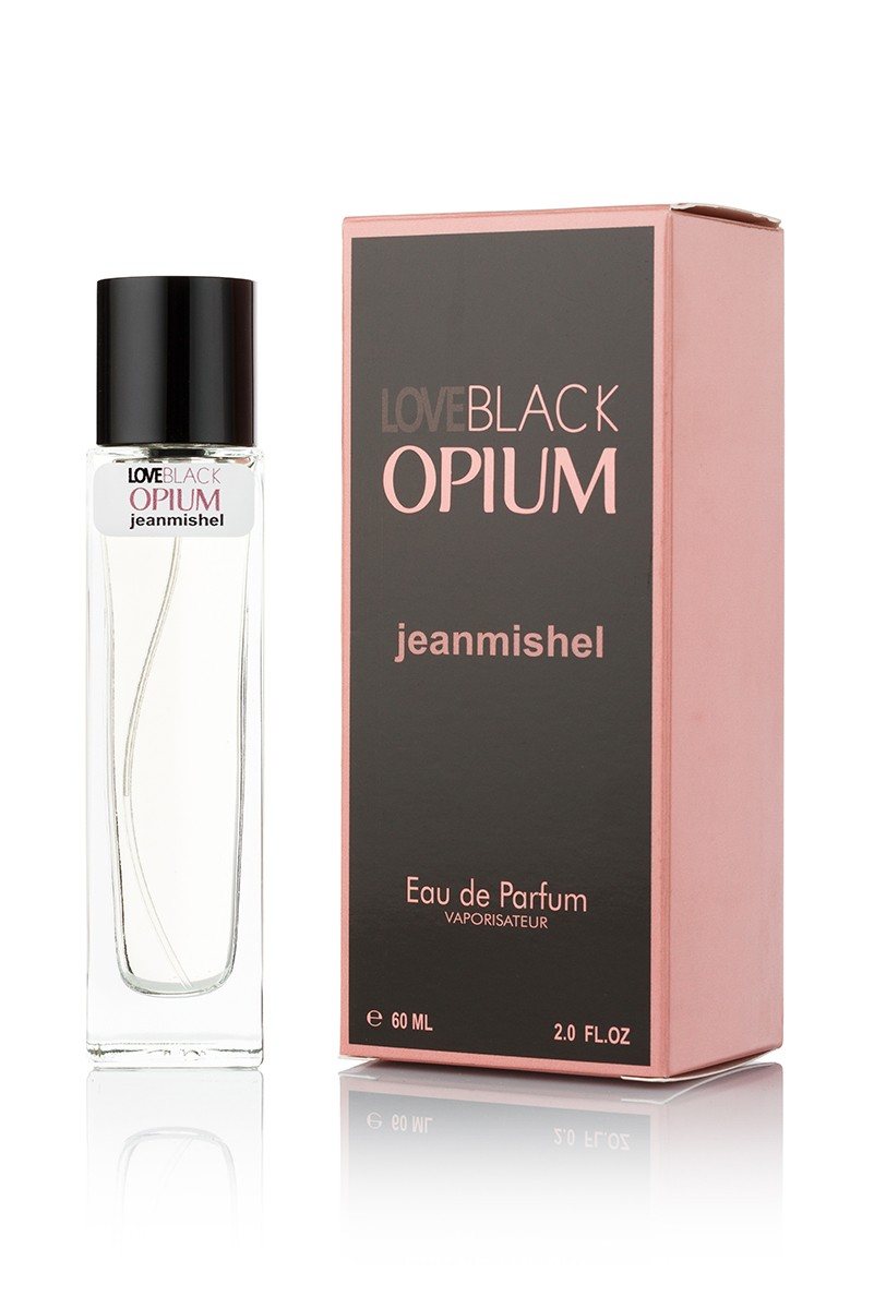 Jeanmishel Love Black Opiume edp 60ml упаковка квадрат